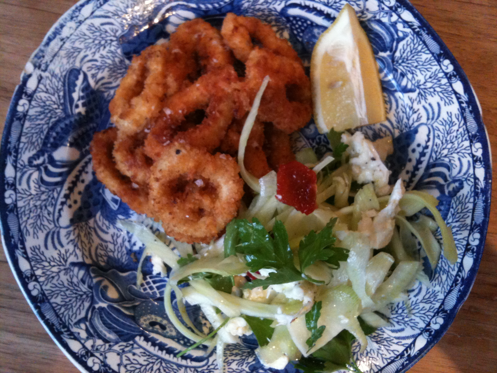 Recipe calamari and a crisp salad james ramsden ah the good old rig random ingredient generator id spent yesterday afternoon staring listlessly at my laptop barely a word of sense escaping my forumfinder Image collections